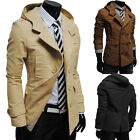 New winter fashion double-breasted hooded - Men's Casual Luxury Jacket  G