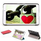 "Folio PU Leather Case Cover Stand for 8"" Samsung Galaxy Tab 4 8.0 Inch SM-T330NU"
