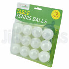 TABLE TENNIS BALLS PING PONG SMALL BALL SPORTS INDOOR OUTDOOR WHITE GAMES PLAY