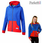 "NEW OFFICIAL GIRL GUIDES UNIFORM ZIPPY HOODED TOP HOODY ROYAL BLUE RED 26"" - 44"""