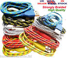 1 meter Strong Fabric Braided Micro Usb Data Sync Charger Cable Lead For Samsung