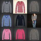 NWT Hollister  Bettys Womens V-Neck Striped and Solid T-Shirts Tees XS, S, M, L
