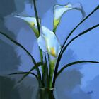 Thank You Greetings Card High Quality Fine Art Floral Flowers Blank Glossy