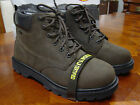 New Mens Siemer Enterprise Waterproof Steel Toe Leather Boot-oil Resistant Sole