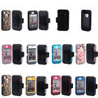 Defender Case With Build in screen protector w / Belt Clip For Apple iPhone 4 4S