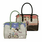 Love Moschino Women Traveler Bowling Bag Multicolored