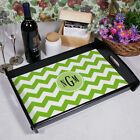 Monogram Madness Personalized Serving Tray Platter- Choose Color, Pattern & Font