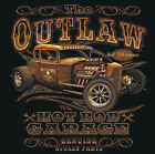 BRAND NEW THE OUTLAW HOT ROD GARAGE T-Shirts Small to 5XL BLACK or WHITE
