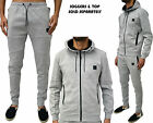 Mens Designer Tracksuit Foray Zip Hoody Hooded Jumper & Jogging Bottoms Pants
