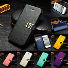 Magnetic PULeather Credit Card Stand Bag Case Cover Skin for Apple iPhone 6 4.7""
