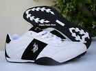 Us Polo Assn Sparrow H White & Black Mens Shoes Sneakers Sizes 7.5-11