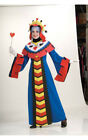 PLAYING CARD QUEEN ROYALTY ADULT WOMENS FANCY DRESS HALLOWEEN COSTUME
