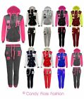Womens Baseball Tracksuit Jogging Bottoms Hoodie Size 6-12 New