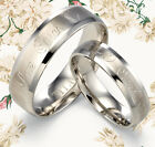 Men Women Free Engrave Wedding Rings UK1094UKA2