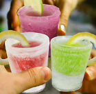 Frozen Ice Shot Glass Bar Party Shooter BBQ choose from 4 or 12 pack Glasses