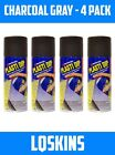 Charcoal Gray - Plasti Dip Spray Can 4 Pack - ** FREE SHIPPING **