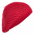 HAND BY HAND® Open Knitted Double Layer Luxurious Slouchy Beanie Beret Hat Cap