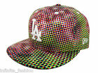 New Era Men's MLB 59FIFTY LA Dodgers Floral Tone Fitted Cap - Green & Red