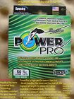 POWER PRO BRAID LINE MOSS GREEN POWER PRO MICROFILAMENT BRAID NEW
