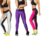 WOMENS Fitness Waist Stretchy Exercise Yoga Capri Running Legging Pants