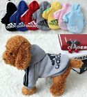 Pet Puppy Dog Cat Hoodie Sweater Pullover Sweatshirt T-Shirt Apparel Costumes