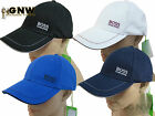 HUGO BOSS MEN'S BASEBALL/GOLF CAP 1 BLUE/BLACK/GREY/NAVY/WHITE AUTHENTIC NEW