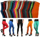 Womens Color Skinny Jeggings Leggings Pencil  Stretchy Soft   Defects