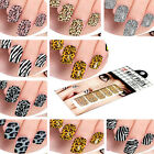 Nail Sticker Foils Design Decoration Tips Decals For in Leopard Print Free Ship