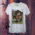 Vladimir Putin Riding T-Shirt Men OR Women's Fitted Russia President Horse Obama