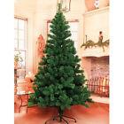 Artificial 6ft Tall Pine Unit Christmas Xmas Tree Classic Natural Metal Stand