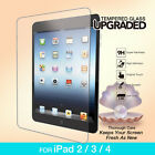 Tempered Glass Screen Protector Film for Apple the new iPad 2 3 4