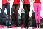 200 Denier Quality Coloured Opaque Silky Tights  7298  One Size UK8-12