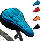 Cycling 3D Silicone Soft Thick Gel Cushion Cover Bike Bicycle Saddle Seat Pad