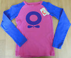 Katvig girl top t-shirt 116-122 cm, 6-7 y BNWT designer organic cotton