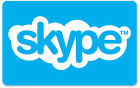 Skype Credit $10 / $25 / $50 - Call, Text, Wifi hotspots - Email Delivery