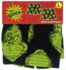 Dr. Seuss: 'The Grinch's Face' Men's Christmas Holiday Gift Boxer {Size: S&L}