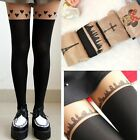 Cute Cat Bunny Bear Women Tail Gipsy Mock Knee Hosiery Pantyhose Legging Tights
