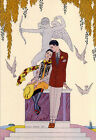 A242  Reprint by George Barbier from Magazine cerca 1925 Art Deco