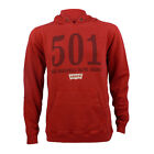Childrens Levis Nelson Red Pullover Hooded Top