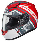 HJC CL-17 Mech Hunter Motorcycle Helmet Red All Sizes