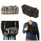 Waterproof MOLLE Outdoor Military Bumbag Waist Pack Hand Bag Fanny Pack Bag