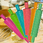 BAKING PASTRY CAKE DOUGH DECORATING PATTERNED ROLLER ROLLING PIN MOLD ICING