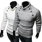 NWT Men's Slim Warm Fit Nordic Cardigan Stylish Knit Top Coat Outwear Sweater