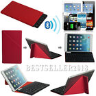 UltraThin Bluetooth Keyboard W / Red Case For 9~10.1 Android Windows Tablet PC