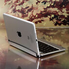 For Apple iPad Mini 3 2 1st Aluminum Stand Case Cover with Bluetooth Keyboard