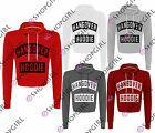 WOMENS LADIES HANGOVER PRINT LONG SLEEVE HOODED SWEAT JACKET JUMPER HOODIE TOP