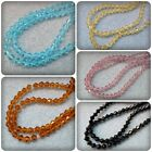 50 x Glass Bicone Beads - 4mm [Various Colours Available]