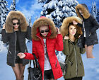 New Womens Down Feather Winter StyleTrendy 100% Real fur long Coat Jacket