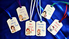 30 x Personalised  Hand made with love tags 6 designs~~~ to complete your work ~