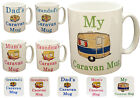 Caravan Motorhome Mug Coffee Cup Tea Mugs Gift Novelty Set New Camping